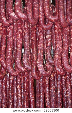 Processed meat - Hunged sausage