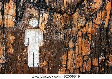 Male Toilet Symbols.