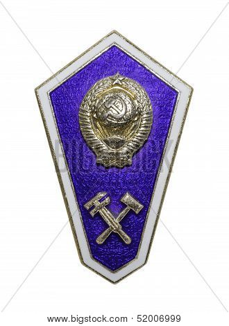 Breastplate (badge) Secondary technical education
