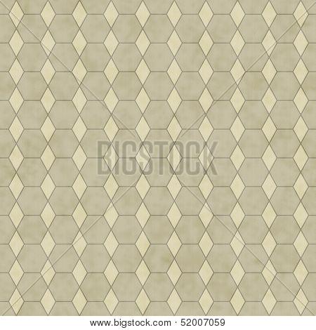 Ecru Honey Comb Shape Fabric Background