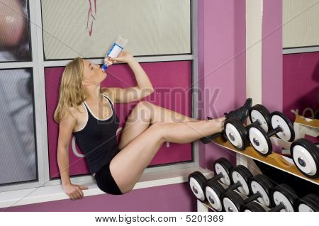 Drinking In Fitness