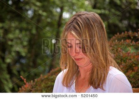 Natural Looking Caucasian Woman