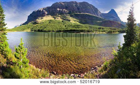 Red Rock Lake Panorama