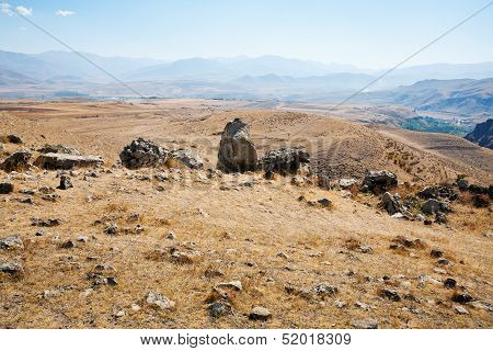 Landscape With Megalithic Monument In Armenia