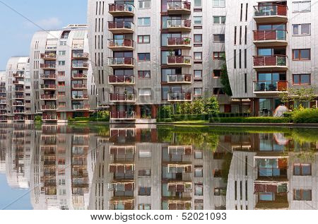 Modern Architecture Residential Buildings