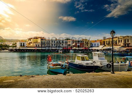 scenery - old venetian port