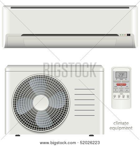 Air conditioner system set