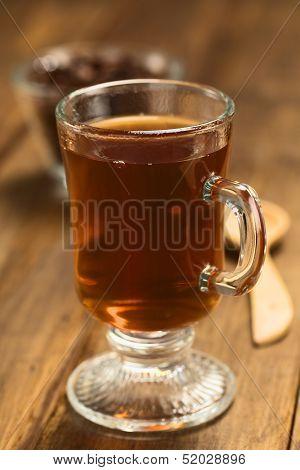 Hot Cacao Shell Tea