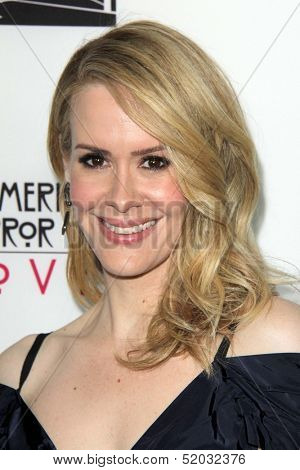 LOS ANGELES - OCT 7:  Sarah Paulson at the