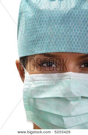 Portrait Of A Female Surgeon