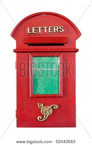 Retro Red Letterbox