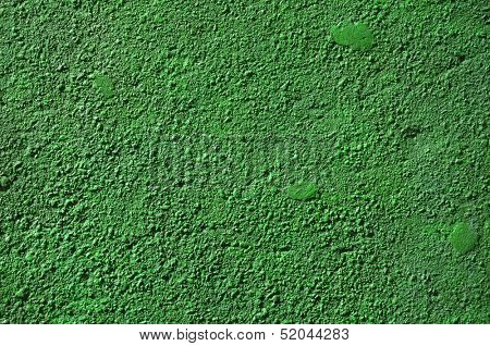 Green Colored concrete wall texture