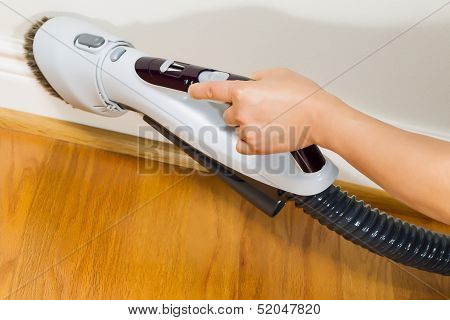 Cleaning Trim Next To Wooden Floors