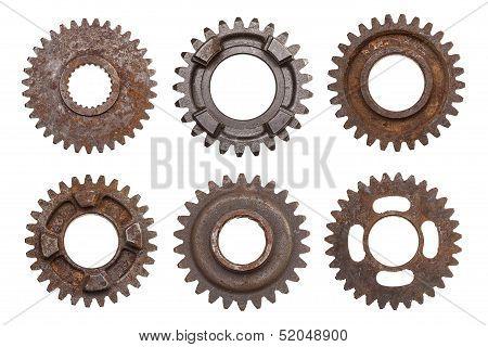 Six Rusty Gears