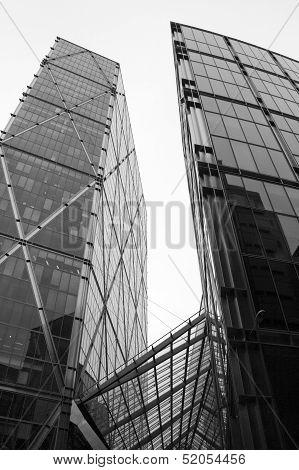 London - September 21: The Broadgate Tower on September 21, 2013