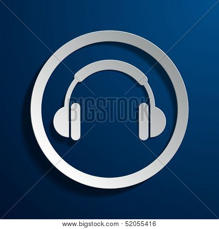 Stock icons headphones