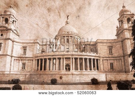 Victoria Memorial - Kolkata ( Calcutta ) - India.