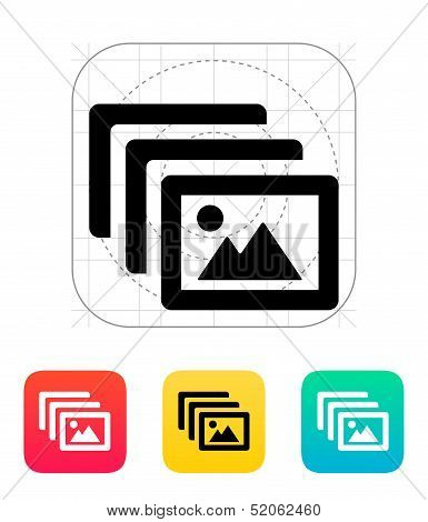Photo archive icon.