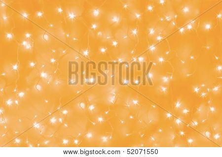 yellow led lights background