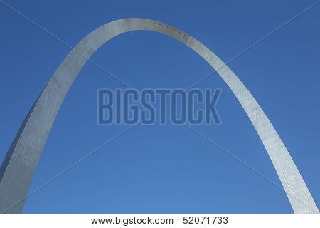 The Iconic Curve of the Gateway Arch