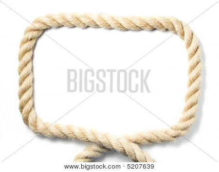 Bold rope frame image photo bigstock Rope photo frame