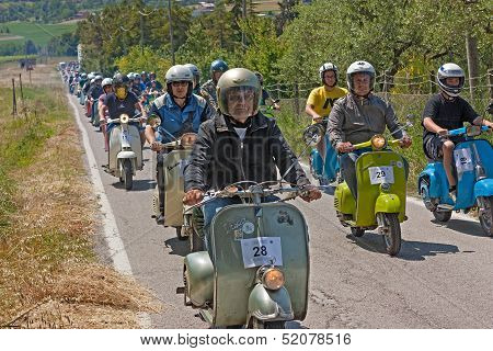 Scooters Rally