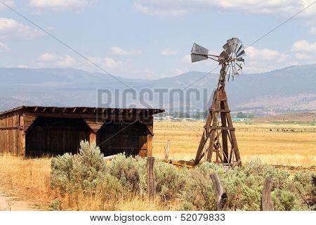 Water Pumping Windmill