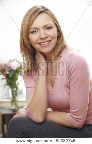 Mature Woman Portrait