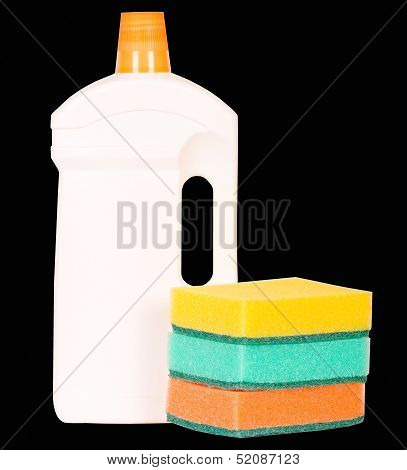 Dishsoap Container Isolated