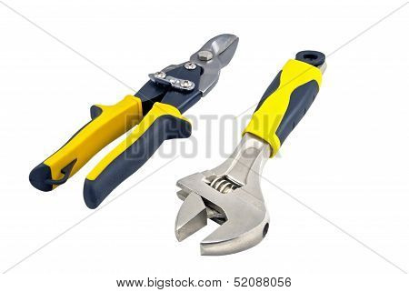Spanner And Wire-cutter