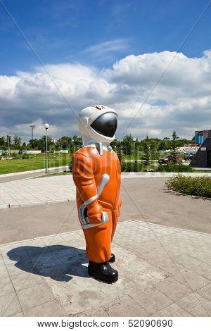 Samara, Russia - June 14: Sculpture