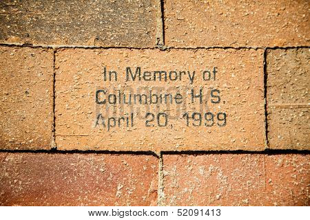 In Memory Of Columbine