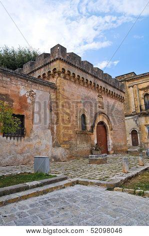 Dentice di Frasso Castle. San Vito dei Normanni. Puglia. Italy.