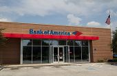 JACKSONVILLE, FLORIDA - SEPT 14: A Bank of America bank branch located in Jacksonville, Florida on S