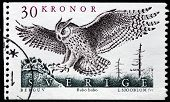 Eagle Owl Stamp