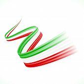 stock photo of iranian  - Abstract waving Italian - JPG