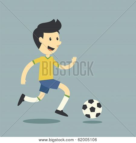Fun Football Player