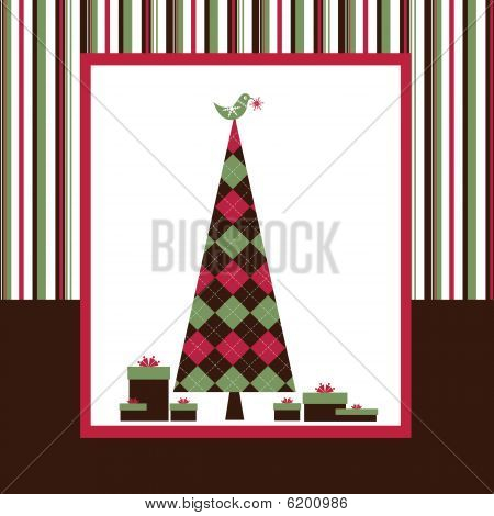 Chrismas Card Series - Brown