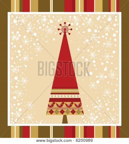 Chrismas Card Series - Red