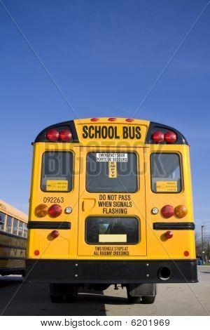 School Bus Behind