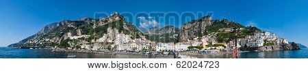 The Landscape Of Amalfi