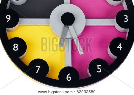 Multi-colored Clock