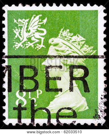 Post Stamp From Great Britain