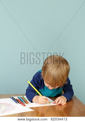 Preschool Education: Child Drawing