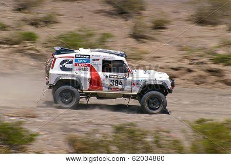 Rally Dakar Argentina Bolivia Chile 2014