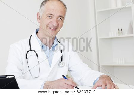 Friendly Mature Doctor