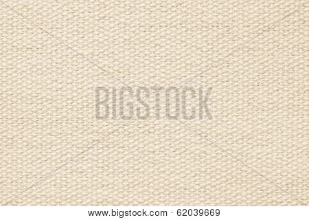 Beige Coarse-grained Texture Of Rough Fabric