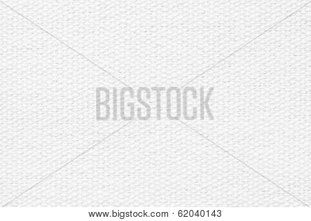 White Coarse-grained Texture Of Rough Fabric