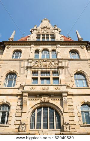 Exterior Of The New Town Hall In Hanover, Germany