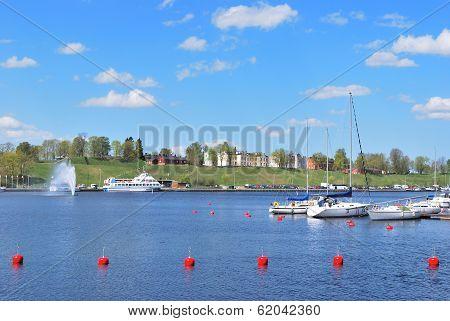 Finland. Lappeenranta Harbor